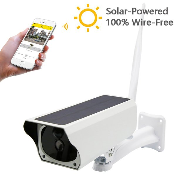 New 2MP Security Camera Wireless Remote Monitoring Solar Video WIFI Alarm System 18Oct26
