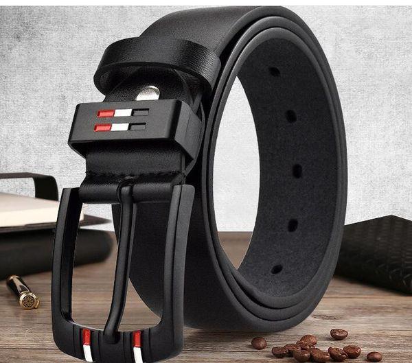 New Fashion PU Leather Belt designer belts for men famous Brand luxury men belt Solid Pin Needle Buckle belts male strap,kb-106