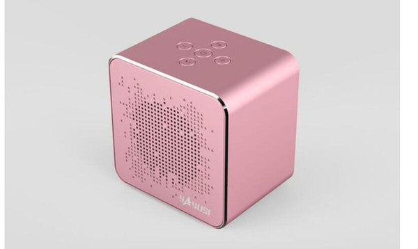 Venda direta do telefone móvel sem fio bluetooth speaker plug-in cartão de artilharia de maçã baixo liga de alumínio Alto-falantes portáteis