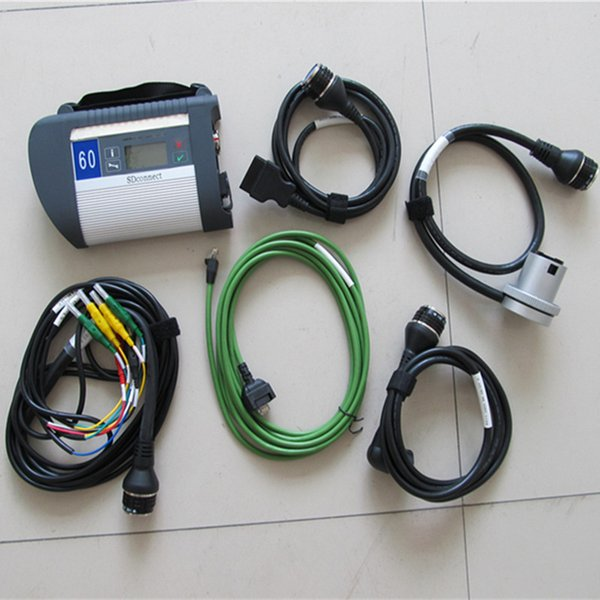 Serial NO.100925 MB Star C4 Sd Connect for Benz car & truck Auto Diagnostic-tool (12V+24V) Full Chip PCB