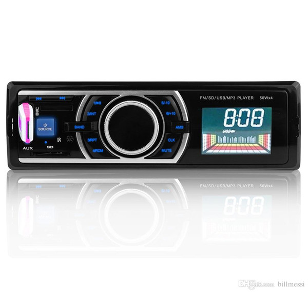 12V Car Stereo In-Dash FM Radio MP3 Audio Player Support Bluetooth 3.0 with USB SD AUX Port USB/SD/MMC Card Play with Remote Control +B