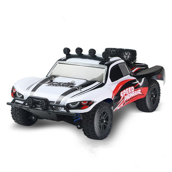 RC Car 4WD 45km/h Full Proportion High Speed Drift 2.4G Monster Truck Remote Control BigFoot Buggy Off-Road SUV Electronic Toys
