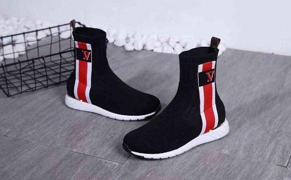 AAAAA 6428190 Aftergame Sneaker Boot, Stretch-Textil-, Extra-Geschmeidig Gummi-Sohle ,, mit Schuhkarton, Größe 35-40, kostenloser Versand