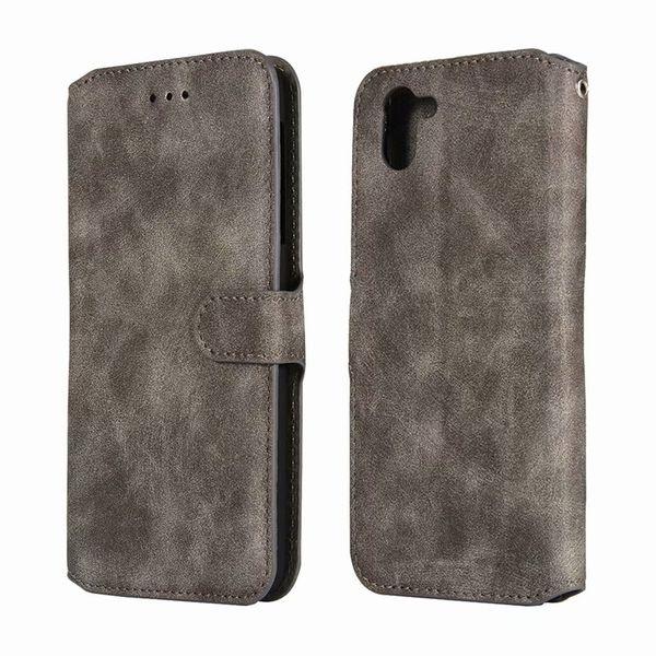 2 in 1 Leder Telefon Fall Wallet Case Cover mit Kartenhalter für Sharp SH-03K Asus ZB601KL mit OPP BAG