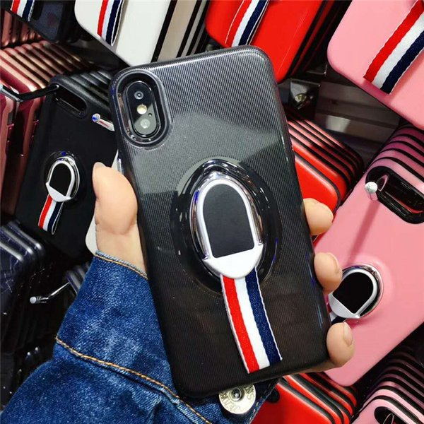 Europe and America Fashion Black White Red Pink Color TPU Phone Case Shockproof Phone Case for iphone Case