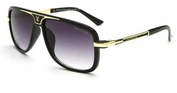 top popular 2018 High Quality Brand Sun glasses mens Fashion Evidence Sunglasses Designer Eyewear For mens Womens Sun glasses new glasses 4 color 9239 2019