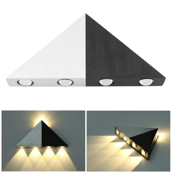 2019 5w Triangle Led Wall Light Sconces Mirror Lamp