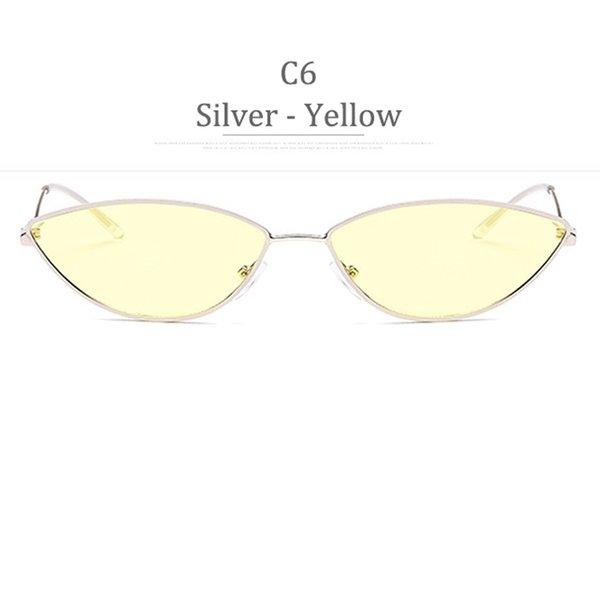 C6 Obiettivo giallo in argento