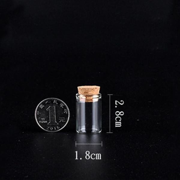 Neue 4 ML Glas Mini Flasche Box Pulver Nase Flasche Pill Box Container Wachs Herb Vape Spulen Speicher Shop Verpackung Holz Stecker mehrere Verwendungen