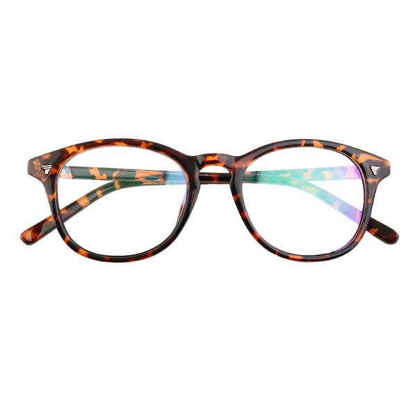 Hot! Fashion Vintage Flower Solid Men Women Eyeglass Frame Len Coating Radiation Spectacle Hot