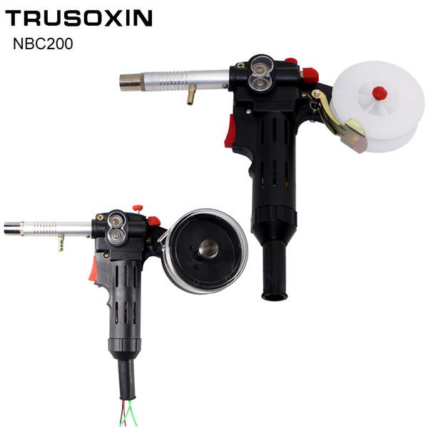 MIG welding machine Spool Gun Push Pull Feeder Aluminum copper or stainless steel DC 24V Motor Wire 0.6-1.2mm Welding Torch
