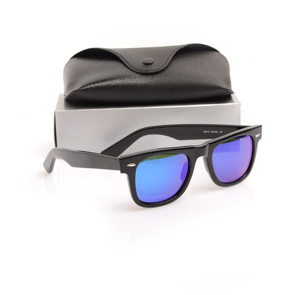Black Frame blue Lens 50MM