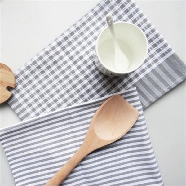best selling 4060cm square gray pure cotton table napkin dinner pocket handkerchief cloth napkins wedding decoration home textile