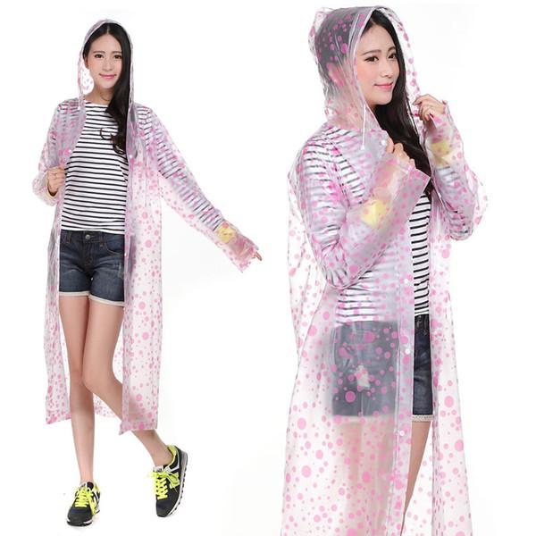 Impermeabile Raincoat Rain Coat Cape Donna Parka Chubasquero Wiche Layer Regenjas Impermeabile Poncho impermeabile per donna DDGZ05