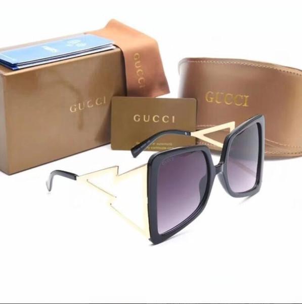 La mode de la nouvelle marque de mode designer hommes de mode 2288 lunettes de soleil modèles féminins rétro style UV400 lunettes de soleil unisexe