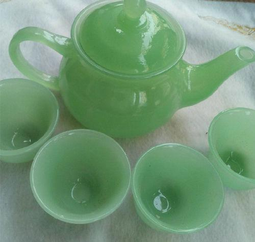 A SET CHINA GLAZE CUPS TEA KUNG FU TEAPOT >>>Free shipping