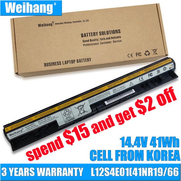 Weihang New Battery For Lenovo IdeaPad L12S4E01 L12M4E01 L12L4E01 L12M4A02 L12L4A02-