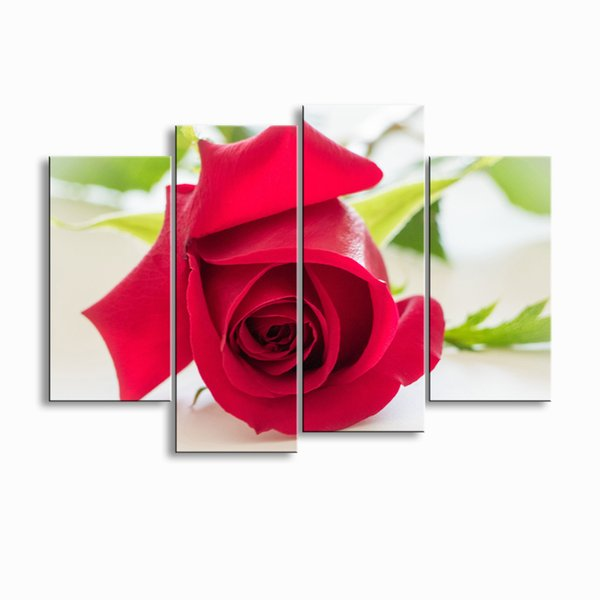 painting & calligraphy print Rose canvas poster wall art living room restaurant Bedroom Decorative paintings MGE4-008