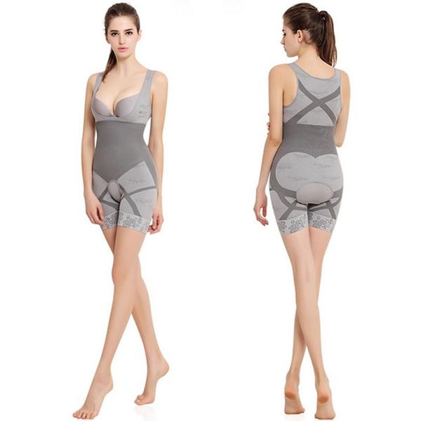 Cuerpo de carbono natural de bambú que adelgaza la ropa interior que modela de las mujeres de la ropa interior de la cintura de Shapewear de la cintura que entrena a la cintura