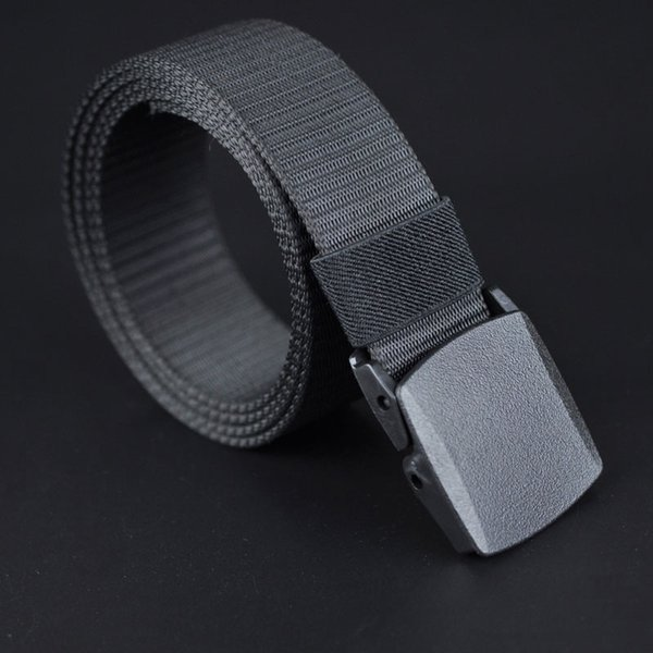 ... marcas de diseñador para hombre. A estrenar Hebilla Automática Cinturón  de Nylon Masculino Ejército Tactical Belt Jeans Cinturón de Lona Casual ad063305347e
