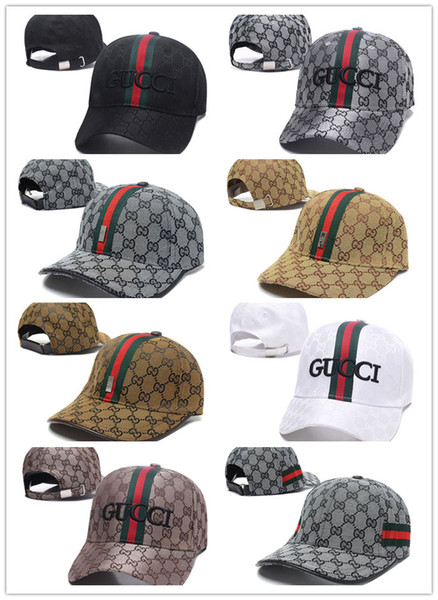 top popular Top Fashion 100% Cotton Luxury Caps Embroidery hats for men women Fashion snapback baseball cap golf visor gorras bone casquette hat 2020