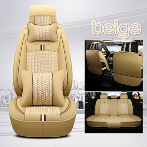 New type fashion design car interior accessories full set breathable car seat cover for VW series