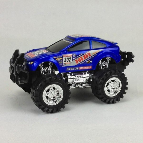 Friction Powered Off-Road Vehicle Cross-country Race SUV Inertia Toy Car Children Realistic Toys Jeep Models for Kids