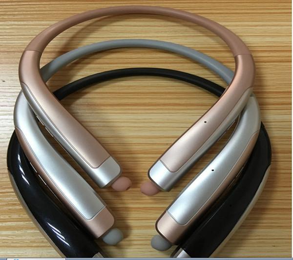 HBS 1100 auriculares inalámbricos Bluetooth de calidad superior HBS1100 con paquete duro al por menor CSR 4.1 auriculares deportivos con banda para el cuello para el cuello con micrófono