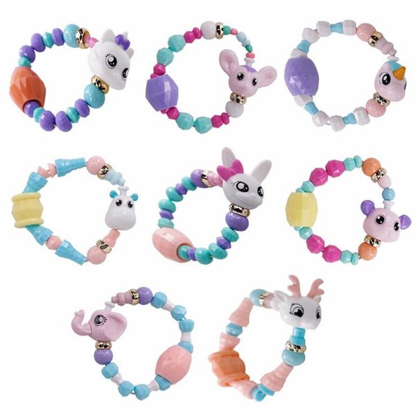 Hot Sale Deformed Animal Bracelet Kids Toys For Boy Girls Cute Magic Twisted Bracelet Diy Cartoon Toy Bracelet For Girls Boy Gift D0697