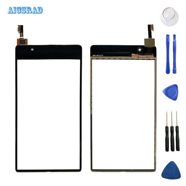 AICSRAD передняя наружное стекло для UMIDIGI umi Кристалл сенсорная панель сенсорный экран Digitizer замена датчика + инструменты + ленты