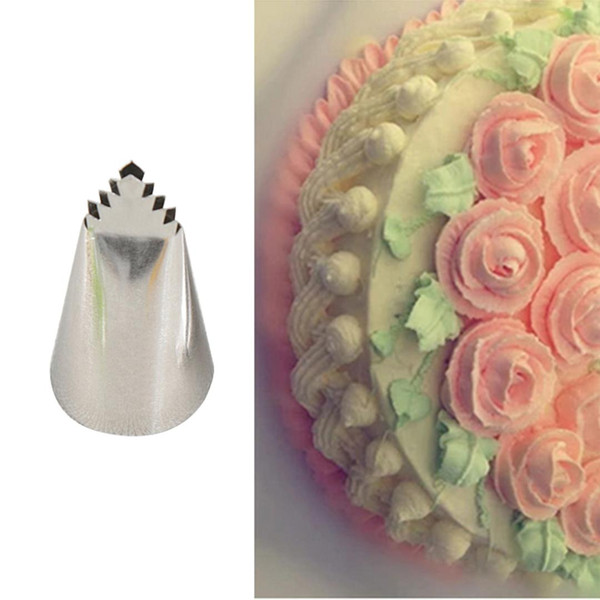 High Quality #95 Leaves Tube Decorating Tip Icing Fondant Piping Decorating Nozzles Pastry Cake Decor Tool