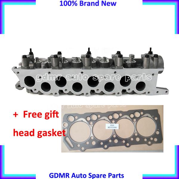 top popular AMC 908 512 D4BH D4BA 4D56-T 4D56T 4D56 cylinder head for Hyundai H1 H100 Galloper Exceed 2476cc 2019