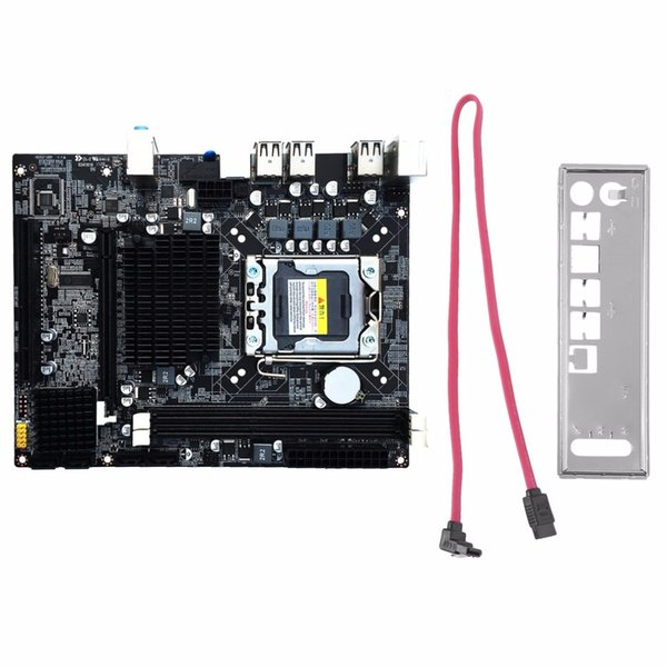 Freeshipping Desktop Motherboard Ordinateur Mainboard Pour X58 LGA 1366 DDR3 16GB Support ECC RAM Pour Quad-Core Six-Core Needle 8PIN