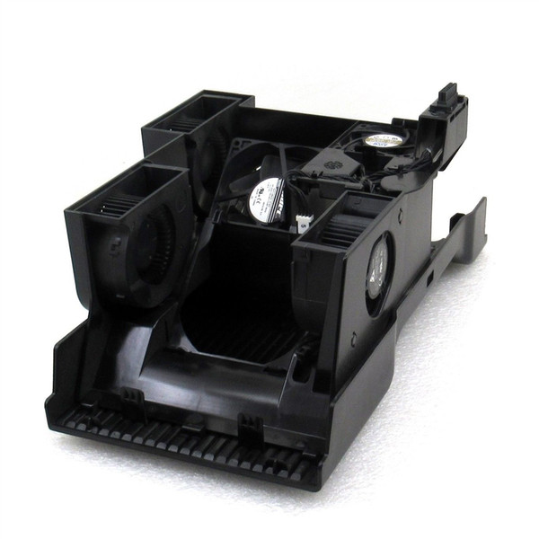 For HP 642166-001 Z820 Z840 Air Shroud and (5) Fan Assembly 642165-001