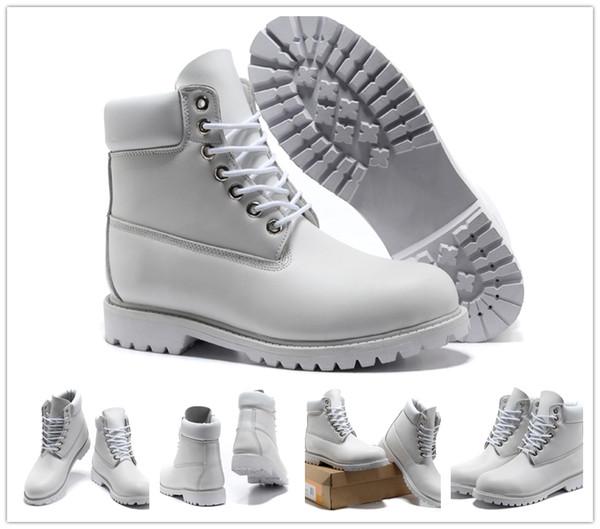 Compre Mujeres Hombres Classic Madera Botas De 6 Pulgadas 10061 Crema Blanca Anti Montañismo Al Aire Libre Zapatos Deportivos Impermeables Madera De