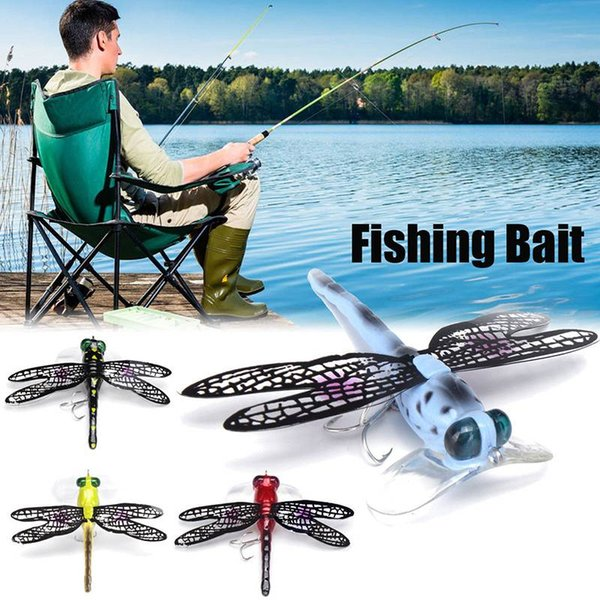 7cm/6g Fly Fishing Bait Feather Hooks Bionic Insects Lure Bait Water Surface Wave Crawl Fly Bait Wobblers Tackle Pesca