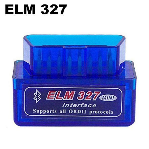 ELM 327 Interfaz Bluetooth Auto Escáner Escáner Escáner de Diagnóstico Automático Automóvil Automático Automotriz Mini V2.1 ELM327 OBD2