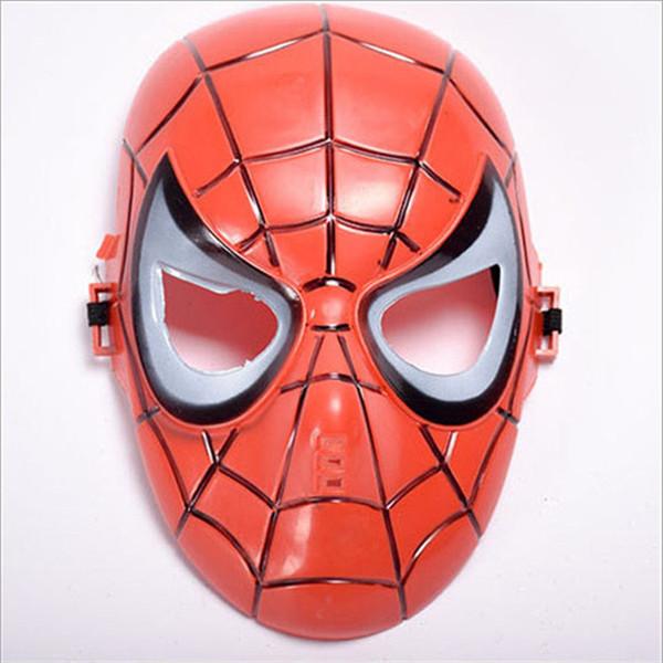 Маска паука-маска красная