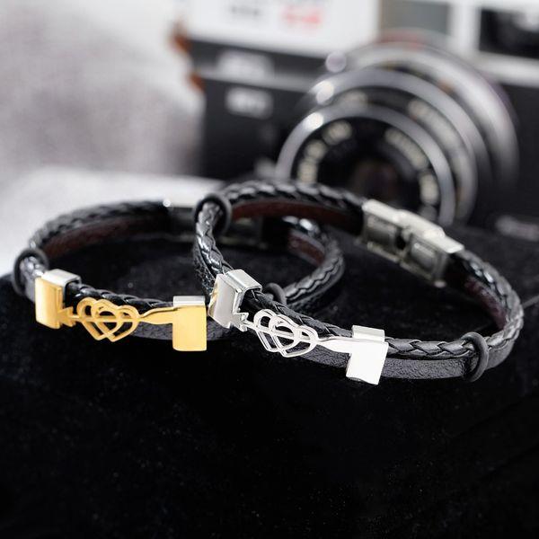 AZIZ BEKKAOUI Vintage Love Gift Coppia gioielli per donne Uomini Love Heart Jewelry Wedding Bands San Valentino Estate