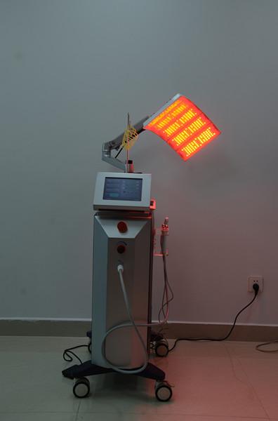 Estética llevó la lámpara PDT llevó la fototerapia de luz con siete colores Led PDT Bio-luz terapia de la piel rejuvenecimiento piel blanqueando la máquina de spa