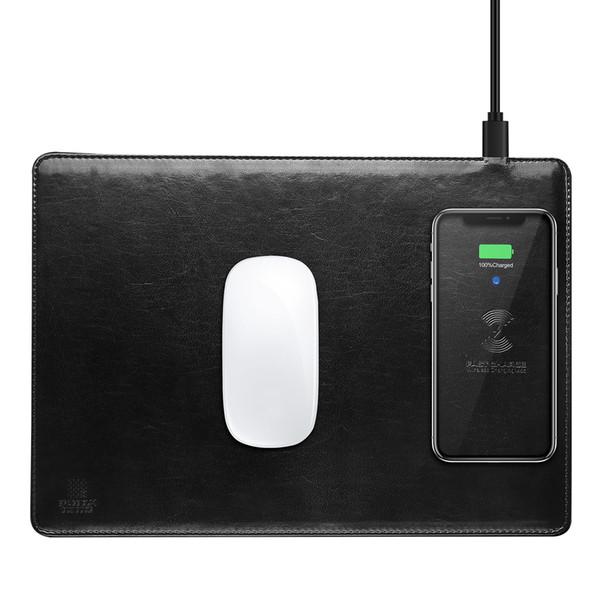 C4 Mouse Pad Cargador inalámbrico para iPhone X para Samsung S8 S9 Ultra Thin mejor calidad