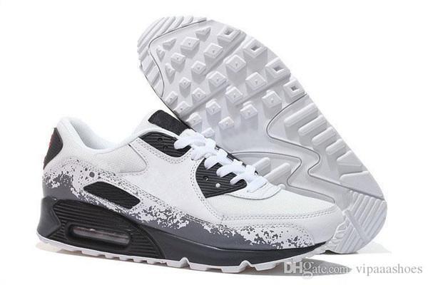 Scarpe Kawasaki Nike 90 Air Max Adidas Yeezy Vapormax Off WhiVendita Calda Mens Sneakers Scarpe Classiche 90 Uomini Scarpe Da Corsa Nero Rosso Bianco