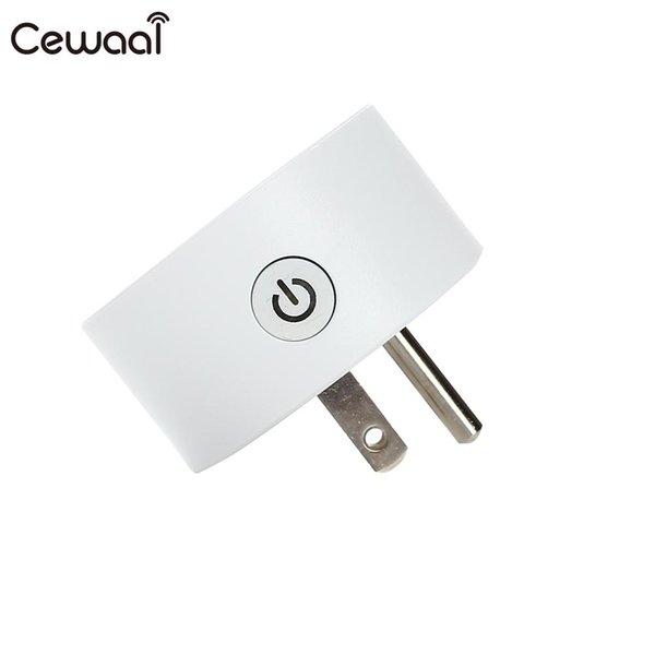 Wi-Fi interruttore elettrico Presa Echo Wi-Fi Socket Mini Home and Living casa della spina elettrica per Amazon Alexa Android