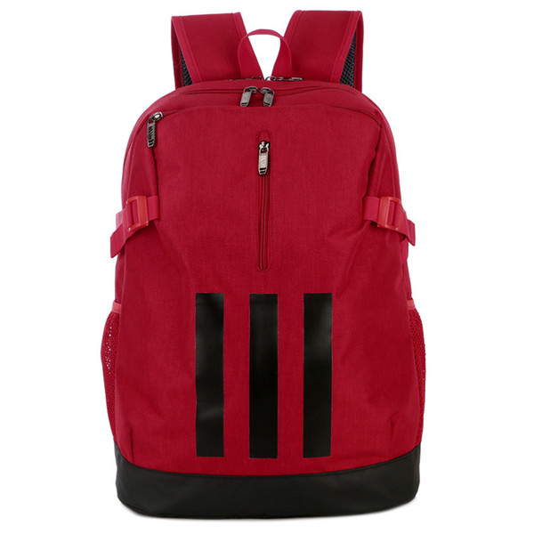New Brand Backpack 3 Stripes Fashion Tide Backpack Student Designer School Bag Mens and Women Luxury Sport Style Bags