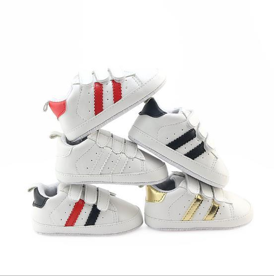 Retail Spring and Autumn sport baby shoes Newborn Boys Girls First Walkers Infantil Toddler 2019 Soft sole Prewalker Sneakers for 11-13