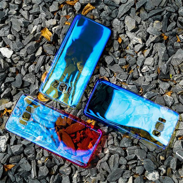 Para Gionee M7 S11 S11S F6 SMART Luxury Electro-chapado Cristalino Color-cambiante Diseñador Breve Contraportada