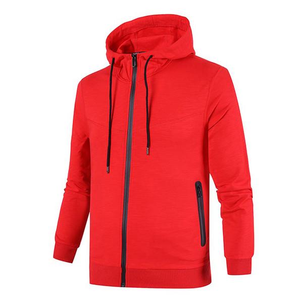 Estilo especial de Luxo Mens Jaquetas Novo Fresco Moda Impressão Casaco Com Zíper Primavera Outono Melhor Qualidade Preto Casaco Vermelho Casacos Casuais
