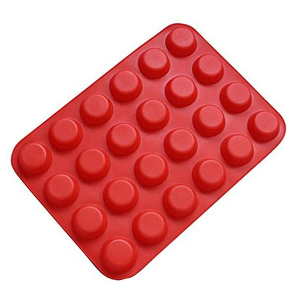 muffin cupcake 24 Cups Muffin Cupcake Pan Molds FDA Grade Silicone Soap Cookies Cake Tray Jelly Mould Bakeware Tools