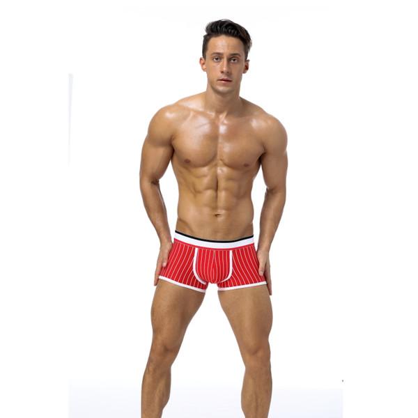 Best Brand men Newest Underwear Mesh boxer Sexy coon Cuecas Boxers Mesh shorts Gay Underwear Man male boy underpants slip
