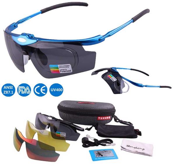 Nouvelle arrivée mâle et femelle lentille polarisée lunettes de soleil lunettes de cyclisme vélo 3 lentilles lunettes de soleil manwomen lunettes Livraison gratuite